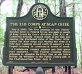 Image for The 23d Corps at Soap Creek - 033-92 - Cobb Co., Ga.