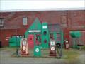 Image for Historic Route 66 - Allen's Conoco Fillin' Station - Commerce, Oklahoma, USA.