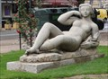 Image for Reclining Woman - Menton, France