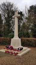 Image for Memorial Cross - Ferriby High Road - North Ferriby, East Riding of Yorkshire