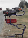 Image for Racing Car Mail Box - Beatrice NE