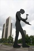 Image for Hammering Man - Frankfurt, Germany