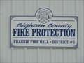 Image for Bighorn County Fire Protection Frannie Fire Hall - District #5