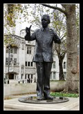 Image for PEACE: Nelson Mandela 1993 - Parliament Square, London, UK