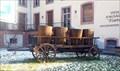 Image for Old wine wagon with wine cradles, Ammerschwihr, Haut-Rhin/France