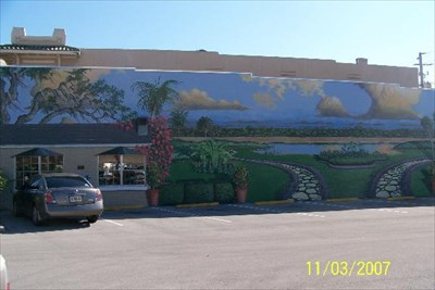 End of a perfect day in paradise lake wales fl murals for A perfect day mural