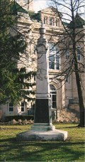 Image for GAR Monument - Courthouse Square Historic District - Centerville, IA
