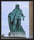 Image for Matthias Corvinus (Matthias I) & (1442) Corvina - Hosök tere, Budapest, Hungary