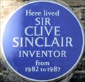 Image for Sir Clive Sinclair - Donne Place, London, UK