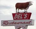 Image for Del's Restaurant Neon - Route 66, Tucumcari, New Mexico