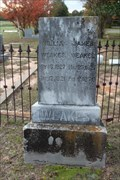 Image for EARLIEST Marked Grave in Moorehead-Melton Cemetery - Eustace, TX