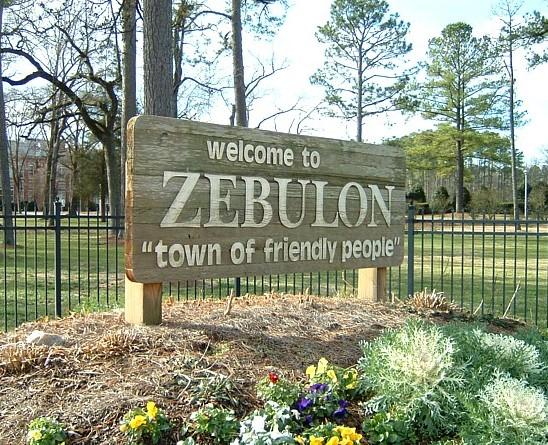 Zebulon, North Carolina - \'Z\' Welcome Signs on Waymarking.zebulon town