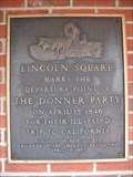 Image for Departure Point of The Donner Party - Springfield, IL