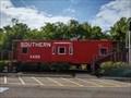 Image for Restored caboose makes historic trek down Jonesborough's Main Street - Jonesborough, TN