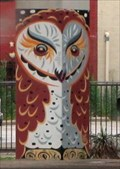 Image for Fritz the Deep Ellum Owl -- Commerce St at Good-Latimer Expwy, Dallas TX
