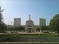 Image for Olympic Coliseum Torch Relit to Honor JFK - Los Angeles, CA