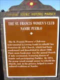 Image for The St. Francis Women's Club - Nambe Pueblo