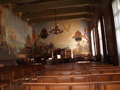 The mural room santa barbara county courthouse murals on for Mural room santa barbara