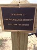Image for Brandon James Schmidt - Windsnest Park Memorial Plaque - West Olive, Michigan