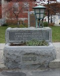Image for Lewis Porter Stone Memorial Watering Trough - Wilmington, VT