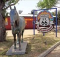 Image for Historic Route 66 - Historic 6th Street - Amarillo, Texas, USA.