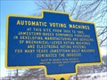 Image for Automatic Voting Machines - Jamestown, New York