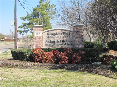 Hall of Jehovah's Witnesses -- Garland, TX - Kingdom Halls of Jehovah