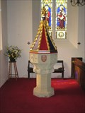 Image for Font -  Church of St Peter & St Paul - Thruxton- Hampshire