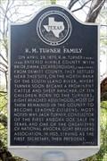 Image for R. M. Turner Family