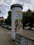 Image for Classic Litfaßsäule - Cottastraße - Stuttgart, Germany, BW