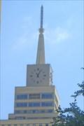 Image for Mercantile Building Clock, Downtown Dallas, Texas  USA