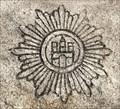 Image for Hamburg-Wappen - Revier Blutbuche - Friedhof Ohlsdorf - Hamburg, Germany