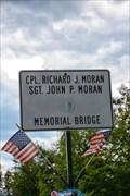 Image for Cpl Richard J and Sgt John P Moran Memorial Bridge - Uxbridge MA