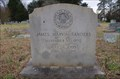Image for James Marvin Sanders - Baxter Cemetery - Newberry, SC.