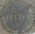 Image for City of Euless Control Monument E01