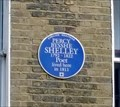 Image for Percy Bysshe Shelley, Poland St, Soho, London, UK