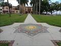 Image for Compass Rose Mosaic - Sarasota, Florida, USA.
