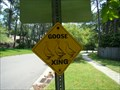 Image for Goose Crossing Sign - Jacksonville, Florida