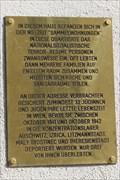 """Image for Gedenktafel """"Sammelwohnungen"""" / Plaque """"Collection flats"""" - Wien, Austria"""