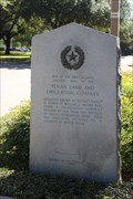 Image for Site of the FIRST Agency of the Texian Land and Emigration Company - Farmers Branch, TX