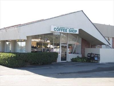 Coffeee Shop Front, La Habra, California