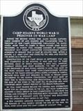 Image for Camp Hearne World War II Prisoner of War Camp