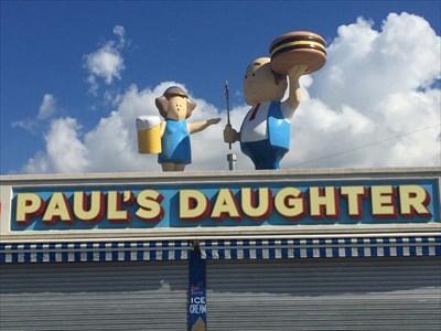 Paul's Daughter Sign, Brooklyn, New York