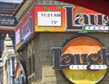 Image for Laugh Factory Time and Temperature Sign  - Los Angeles, CA