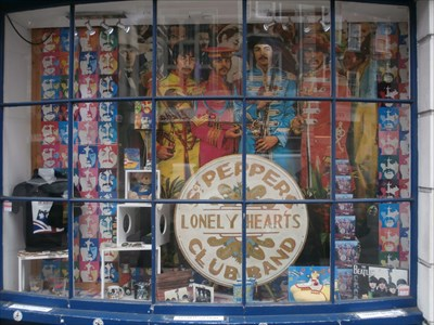 London Beatles Store -- Baker Street
