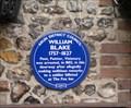 Image for William Blake, the Fox Inn, Felpham, Sussex, England