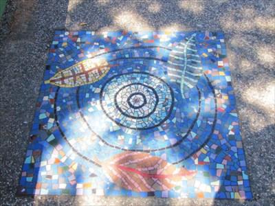 Mosaic Tile Design in Walkway, San Francisco, CA