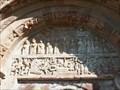 Image for Le tympan - Église Saint-Hilarian-Sainte-Foy de Perse - Espalion (Aveyron), France