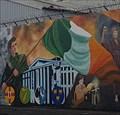Image for Raising The Flag - International Wall, Divis Street - Belfast