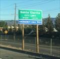 Image for Santa Clarita, California (Southbound) ~ Population 213,231